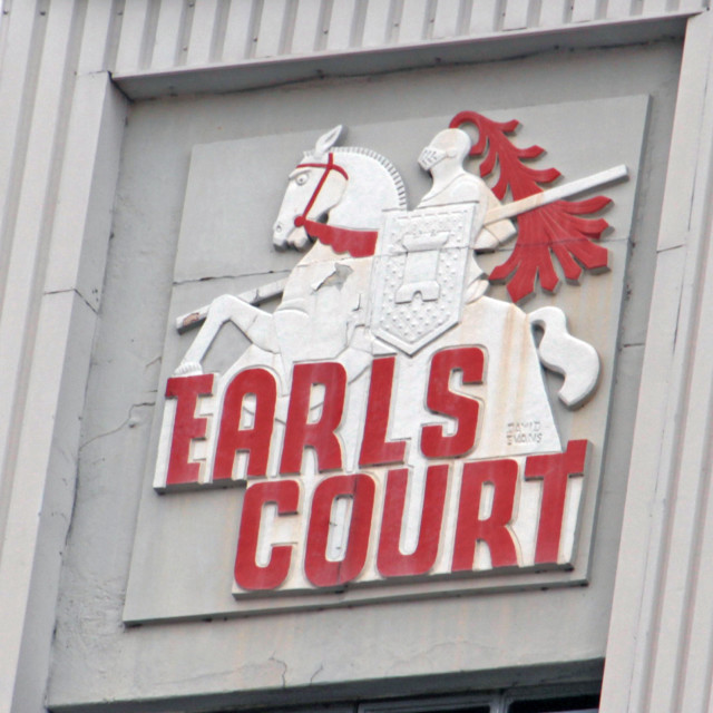 """Emblem of Earls Court"" stock image"