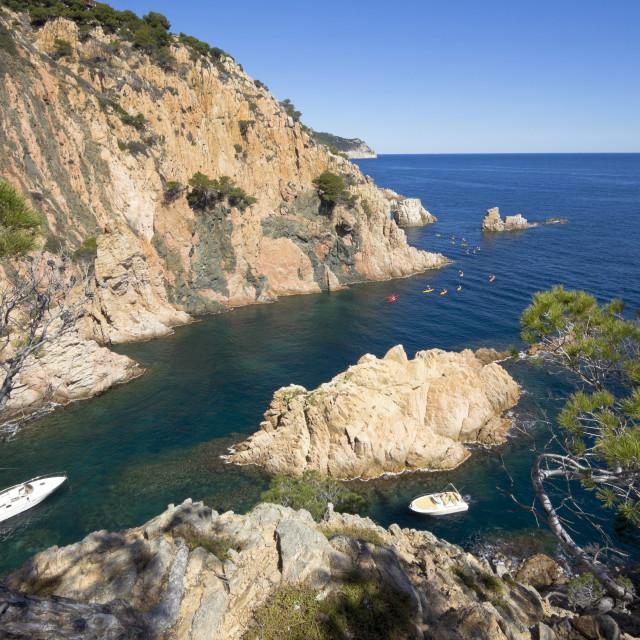 """""""Coast (Costa Brava)"""" stock image"""