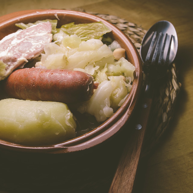 """Galician stew, a typical Spanish dish"" stock image"