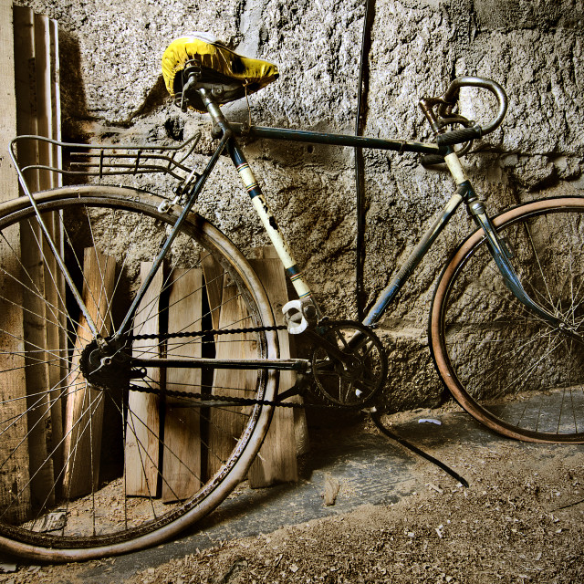 """antique bicycle"" stock image"