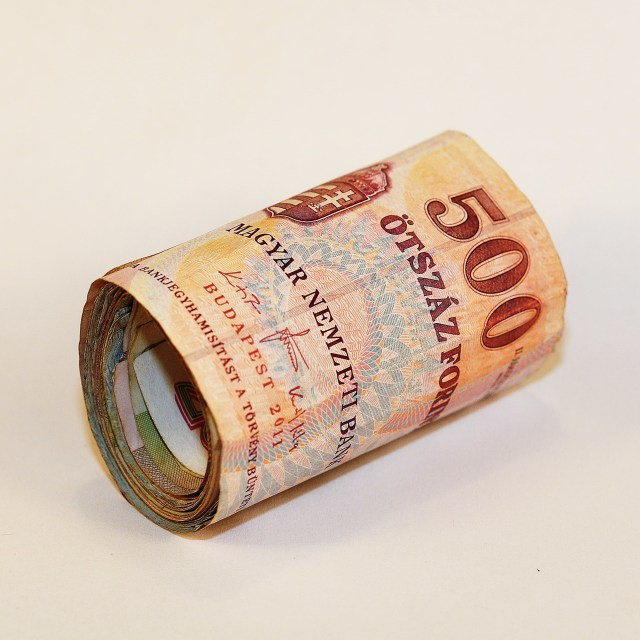 """Roll of Cash"" stock image"