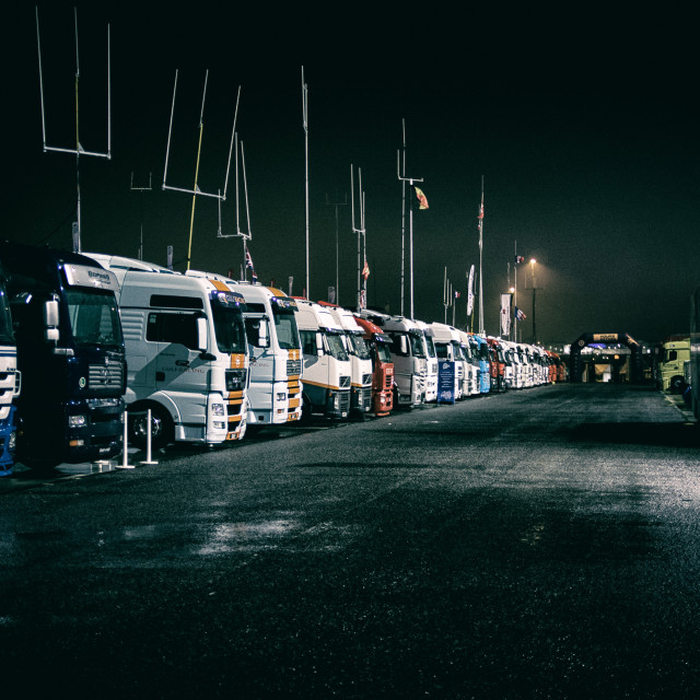 """The Paddock at Estoril"" stock image"