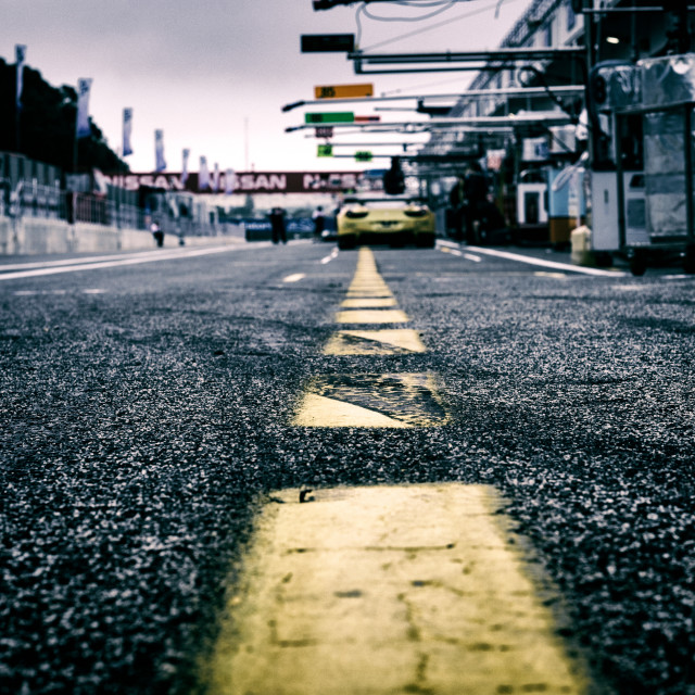 """Estoril Pitlane"" stock image"
