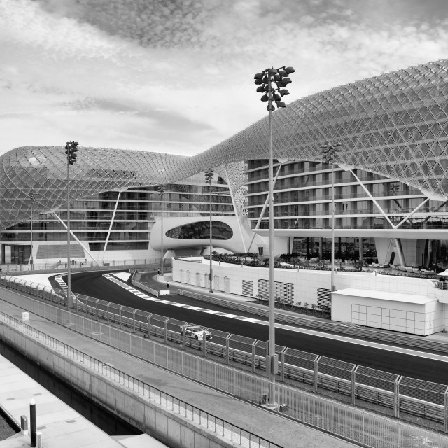"""Yas Marina Circuit"" stock image"