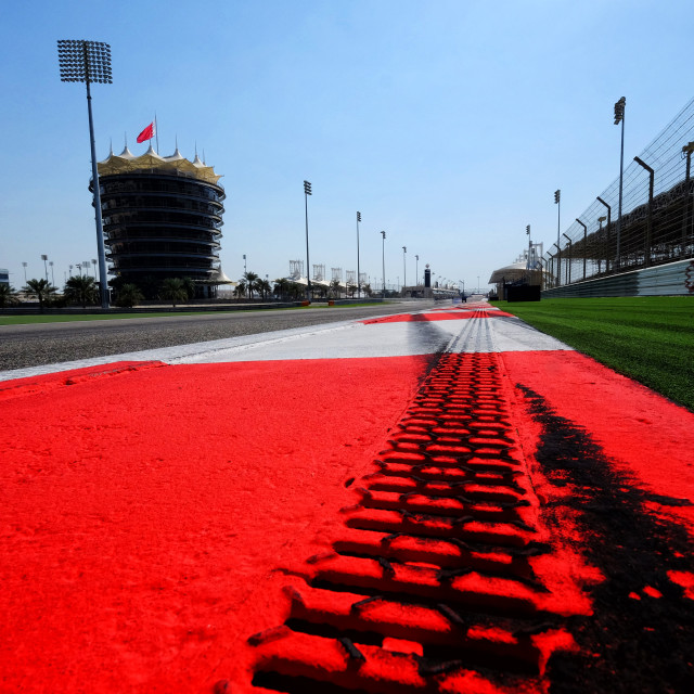 """Bahrain International Circuit"" stock image"