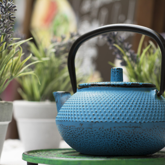 """Asian teapot"" stock image"