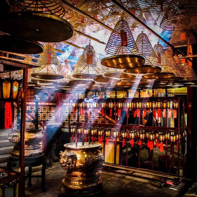 """Man Mo Temple"" stock image"