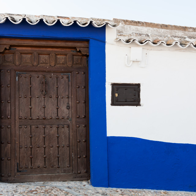 """Andalusian white villages in Spain"" stock image"
