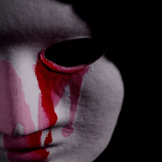 """""""white mask"""" stock image"""