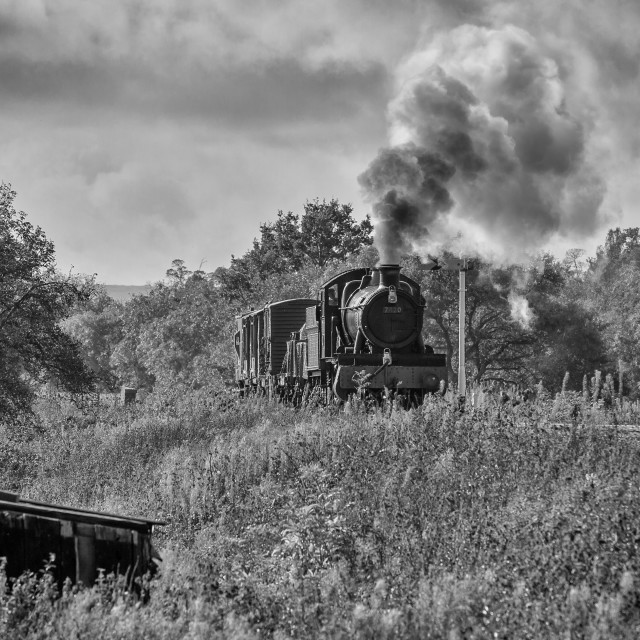 """GWR Manor No.7820 Dinmore Manor"" stock image"