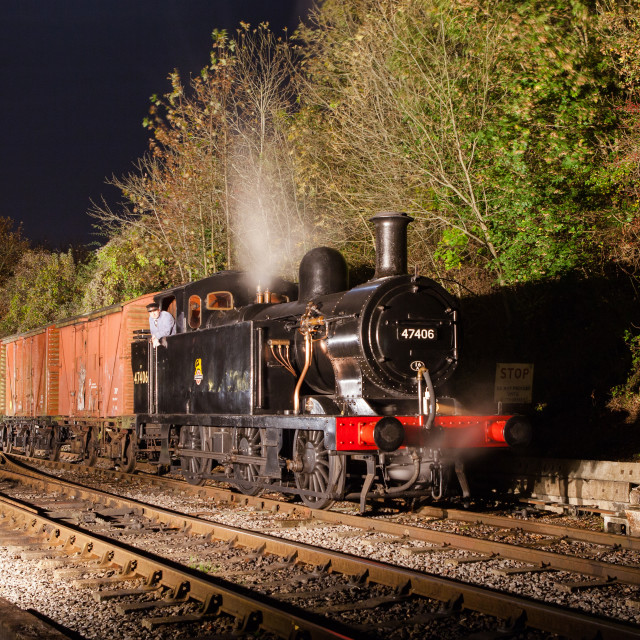 """LMS Jinty No. 47406"" stock image"