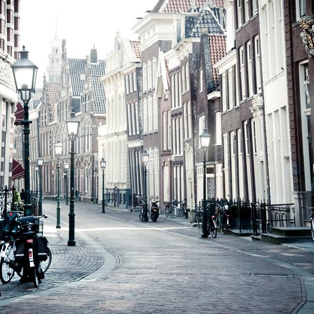 """Dutch Street"" stock image"