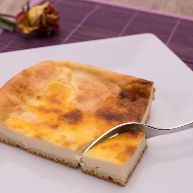 """Cheesecake"" stock image"