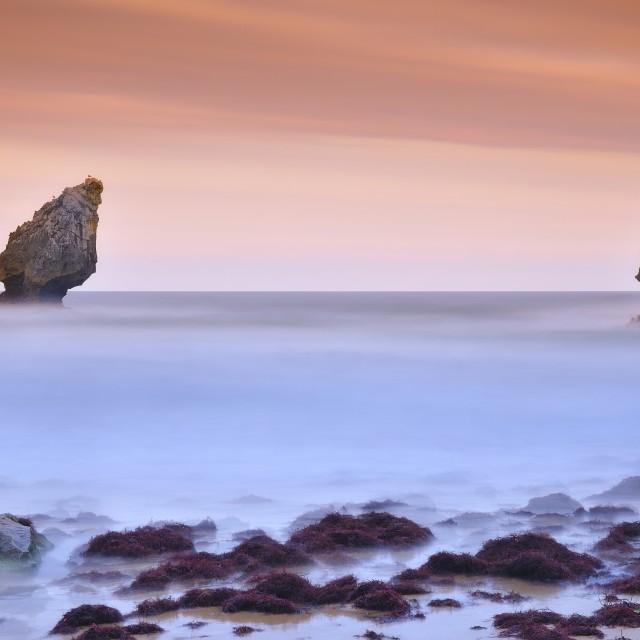 """Buelna beach."" stock image"