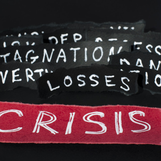 """Crisis concept"" stock image"