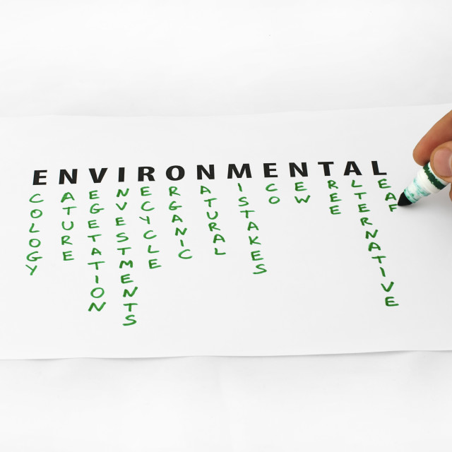"""""""Environment and Ecology"""" stock image"""