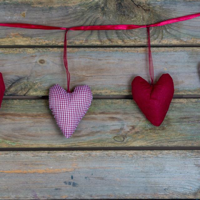 """Hearts"" stock image"