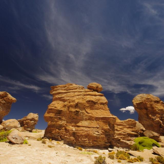 """""""Desert outcrop"""" stock image"""