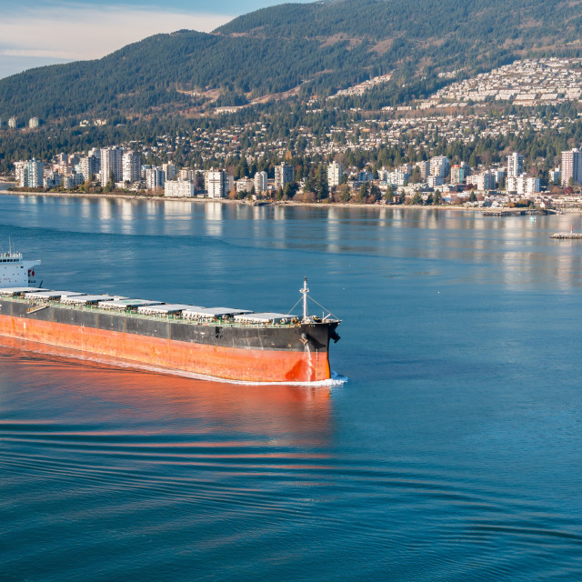 """Bulk Carrier"" stock image"
