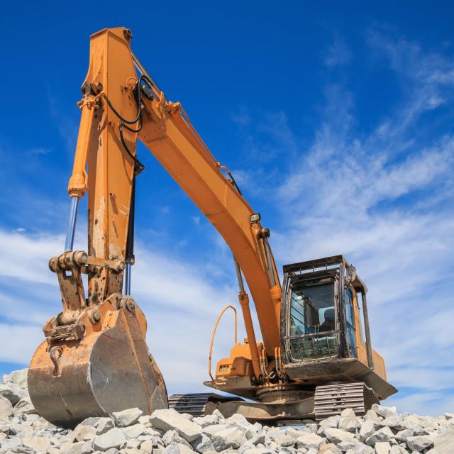 """""""Excavator"""" stock image"""