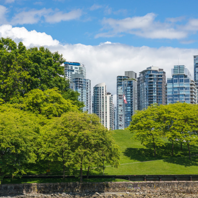 """Yaletown, Vancouver"" stock image"