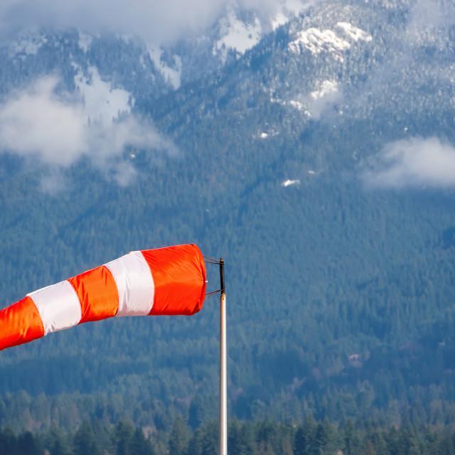"""Wind cone"" stock image"