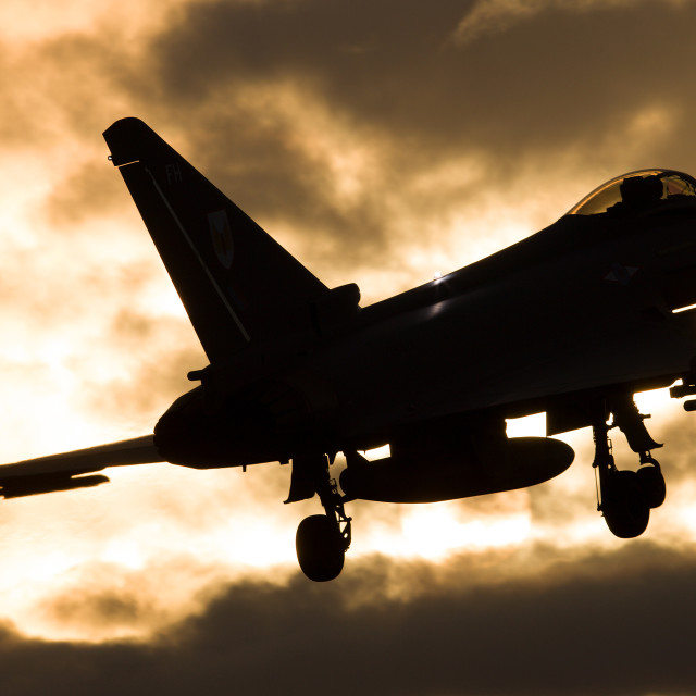 """Eurofighter EF-2000 Typhoon FGR4"" stock image"
