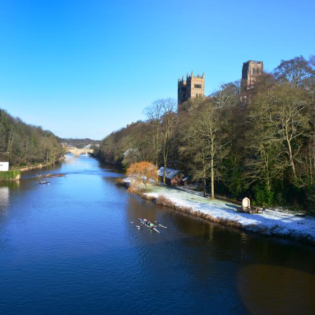 """Durham Riverside"" stock image"