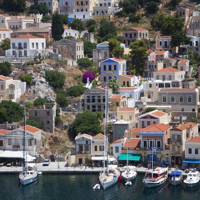 """Symi Greece"" stock image"