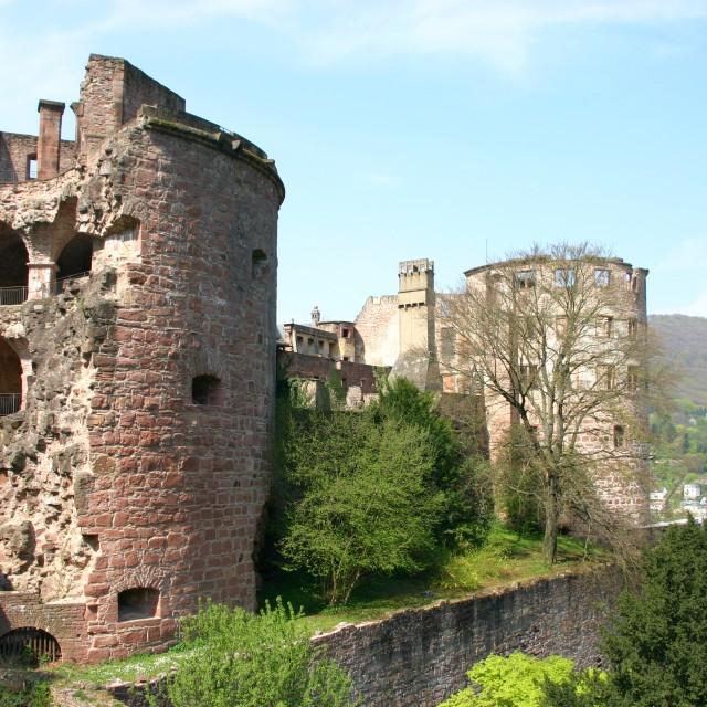 """Heidelberg Castle"" stock image"