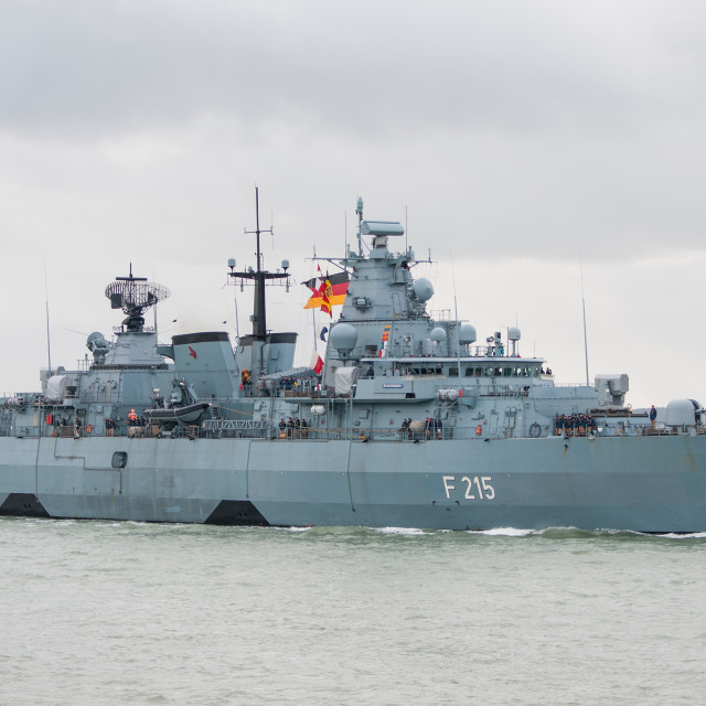 """FGS Brandenburg"" stock image"