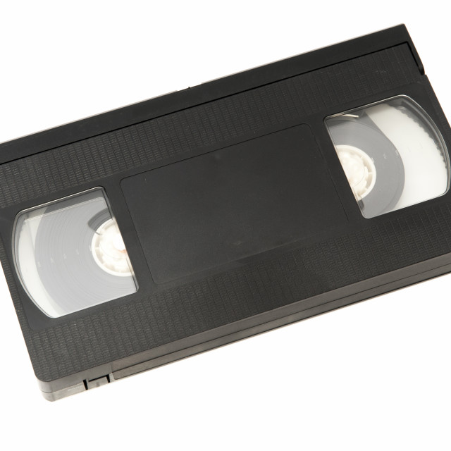 """old video tape"" stock image"