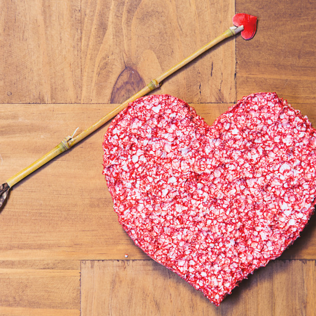 """Cupid's arrow"" stock image"