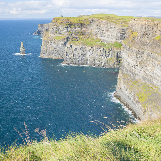 """Cliff of Moher"" stock image"
