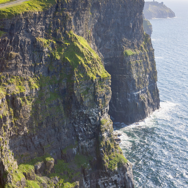 """""""Cliff of Moher"""" stock image"""