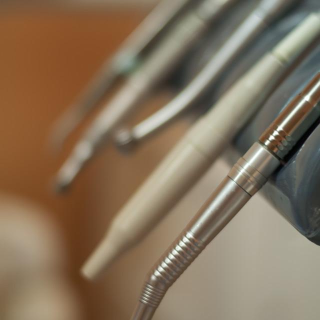 """""""Dental machine and equipment"""" stock image"""