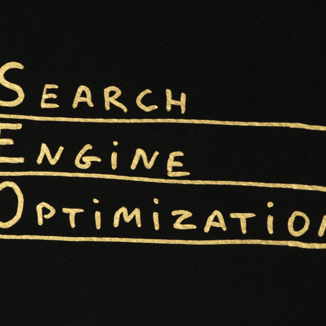 """SEO Optimization conception"" stock image"