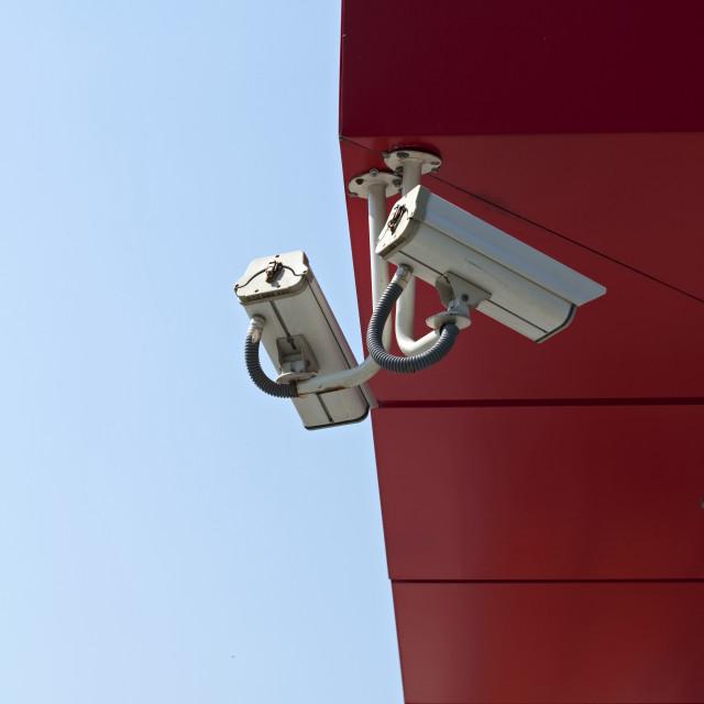 """Surveillance Cameras"" stock image"