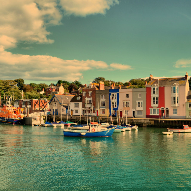 """old harbour"" stock image"