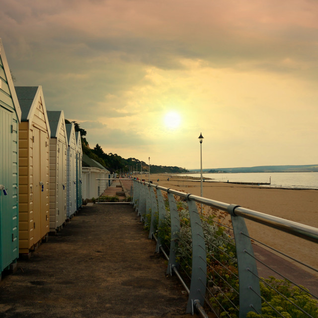 """bournemouth beach front"" stock image"