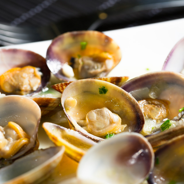 """Marinated clams"" stock image"