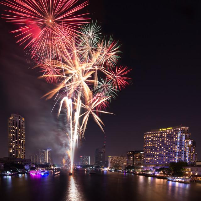 """New Year Firework"" stock image"