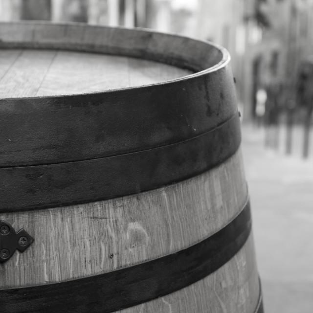 """Wine Barrel"" stock image"