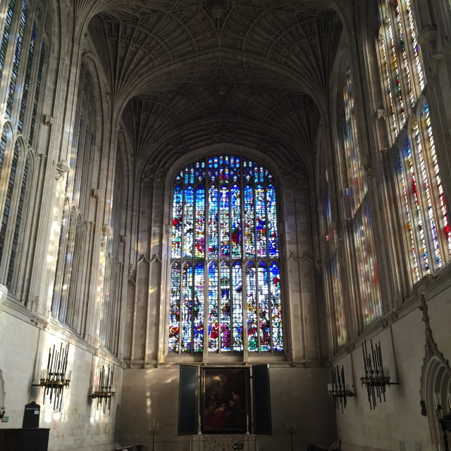 """Kings College Chapel"" stock image"