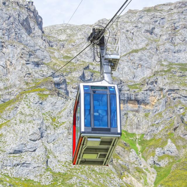 """""""Fuente De cable car"""" stock image"""