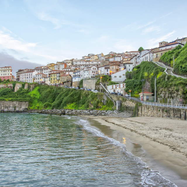 """Lastres beach, Spain"" stock image"