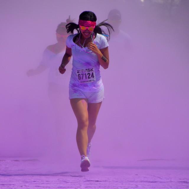 """""""The Runner"""" stock image"""