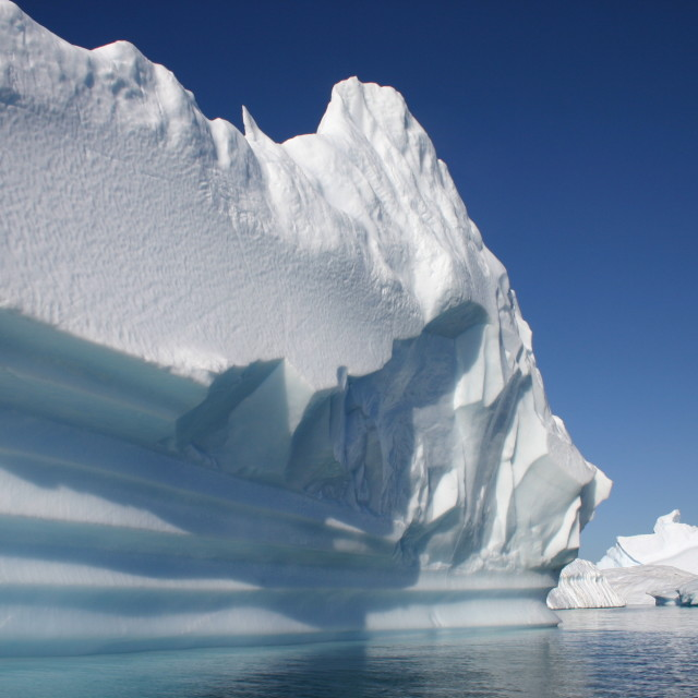 """Antarctic ice scene"" stock image"