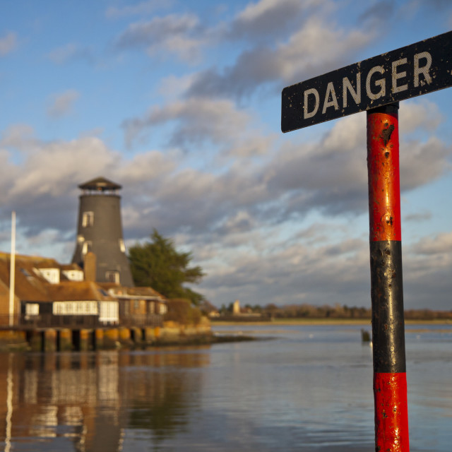 """Langstone Mill Hampshire"" stock image"