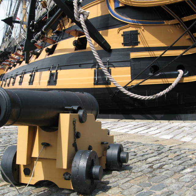 """""""HMS Victory Portsmouth"""" stock image"""